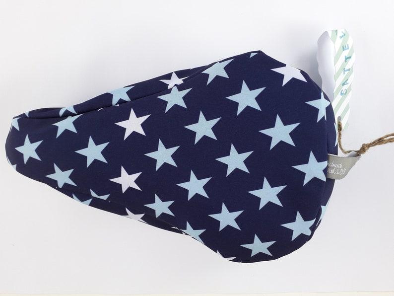 Saddle protection Softshell Kids Star love blue/light blue image 0