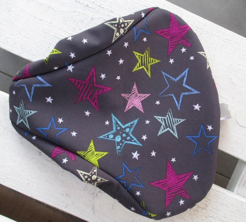 Saddle protection Softshell Star Love antrazit image 0