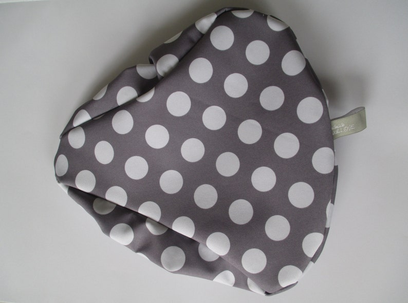 Saddle protection Softshell Dots Love Grey image 0
