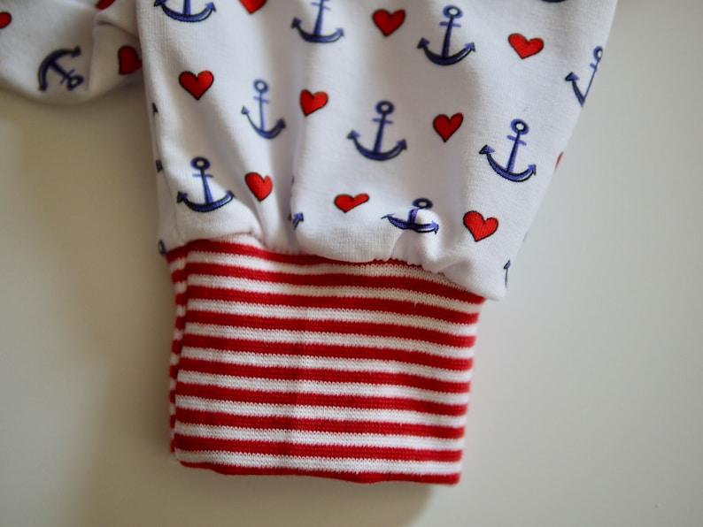 pants pluder pants romper pants ANKER size 6268 maritime baby pants