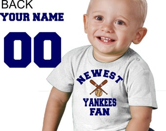 reputable site 395ce d1127 Yankees baby | Etsy
