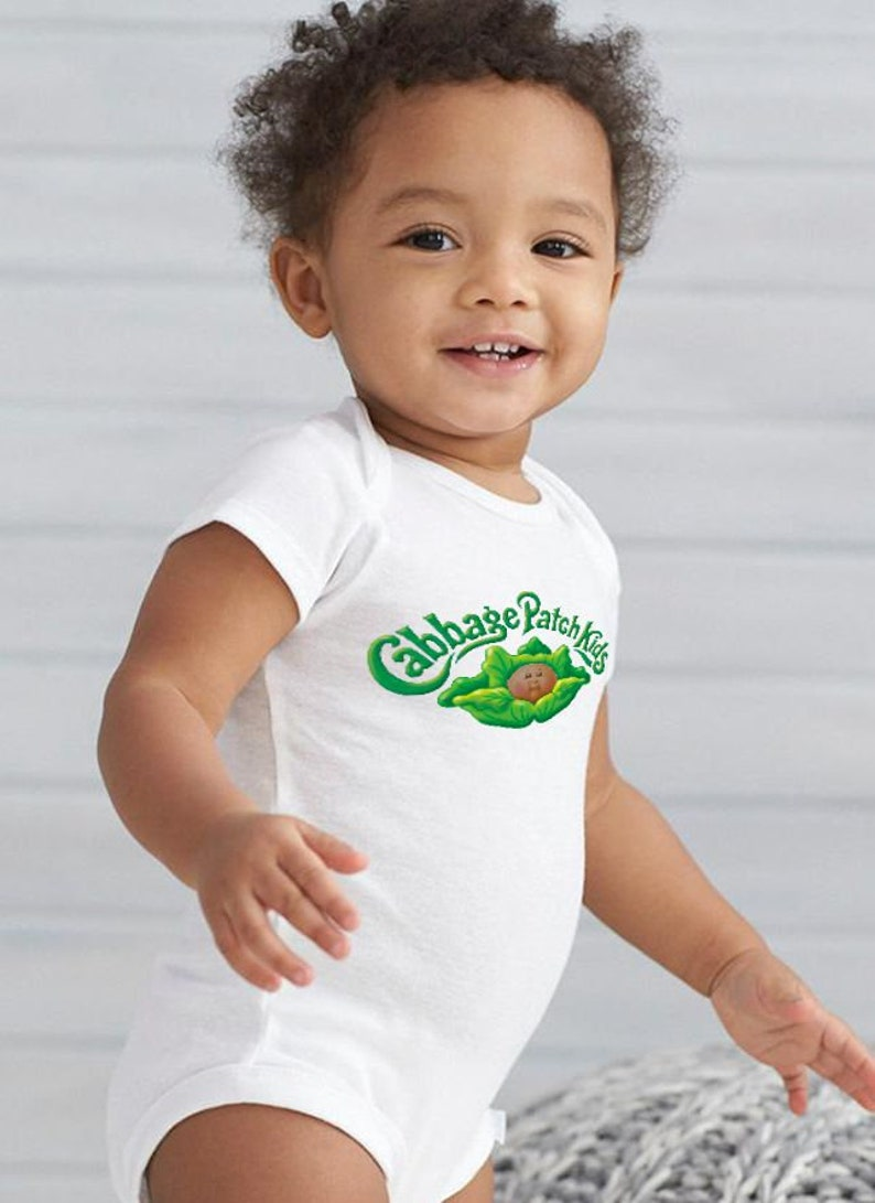 Cabbage patch kids afro american Halloween costume CBK Baby image 1