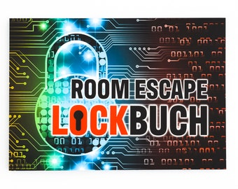 Escape Room Book - The LureBook to Complement and Fill Out Your Exit Game Experiences - Gift for Escape Fans - Diary Notebook