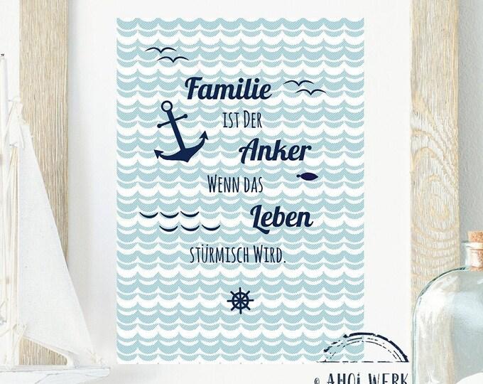 """Art print """"Family"""""""