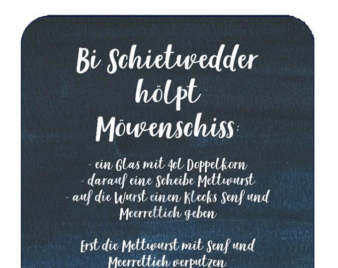 """Postcard """"Möwenschiss"""""""