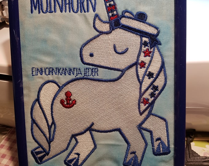 """Embroidery file """"Moinhorn"""""""