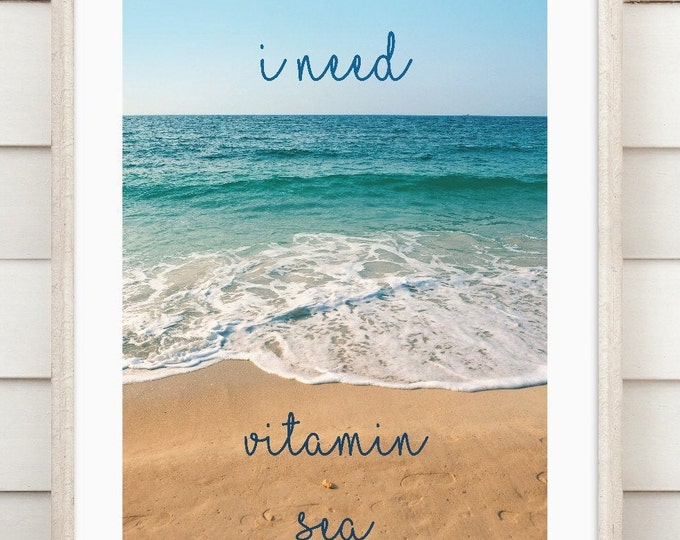 "Art print ""Vitamin Sea"""