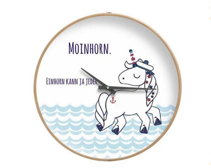 """Wall clock """"Moinhorn"""" (R)"""