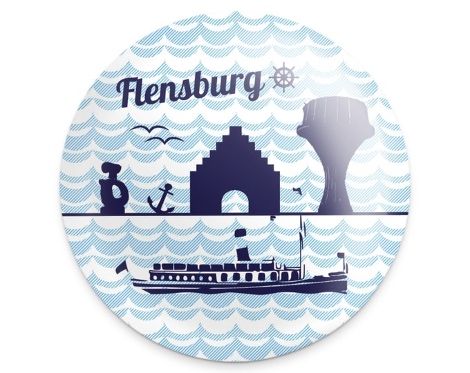"Magnet ""Flensburg"" small"