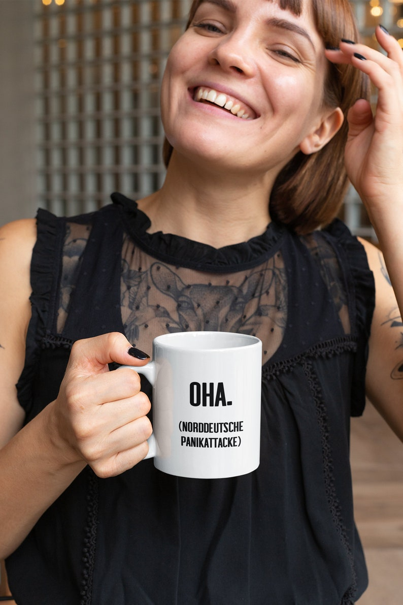 Funny cup Oha  North German Panic Attack image 0