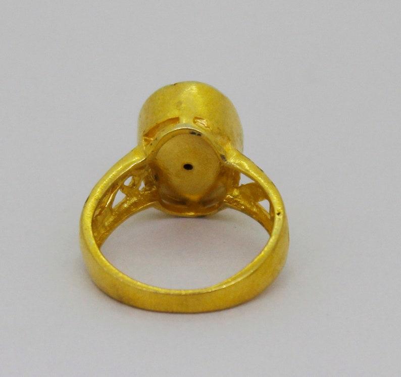 925 Sterling Silver Rose Cut Polki Ring Natural Diamond Ring Victorian Ring Anniversary Ring Vintage Ring KR/_022