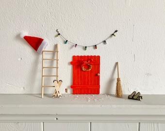 Wichteltür, Garden Flower Pot Decoration, Christmas Elves Fun