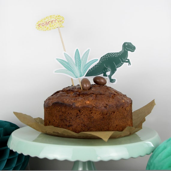 Fine Dinosaur Cake Topper Birthday Cake Topper T Rex Kids Etsy Personalised Birthday Cards Paralily Jamesorg