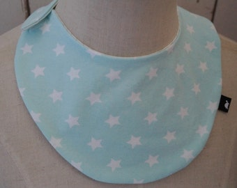 Baby/Child scarf mint with stars