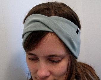 intertwined headband monochrome