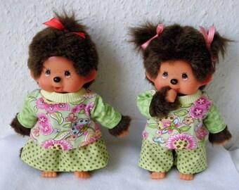 45 2-tlg Set Pullover und Windelhöschen für Puppe Gr