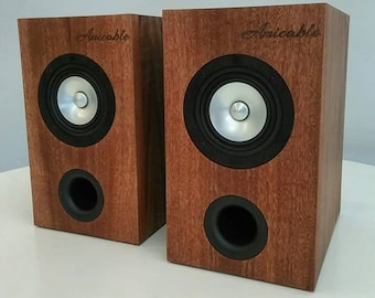 Audiophile Full Range Bookshelf Speakers