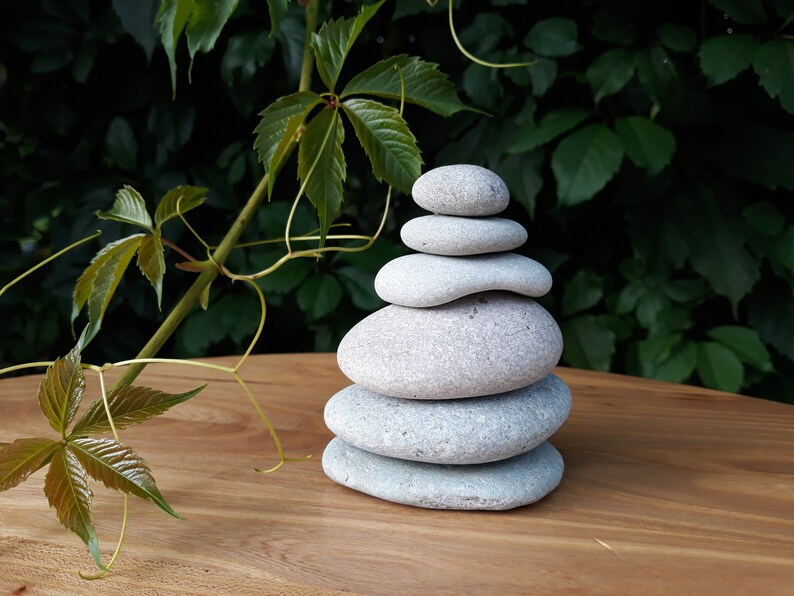 Zen Stones Cairn Rocks Stacking Stones Balance Rocks Sea Etsy
