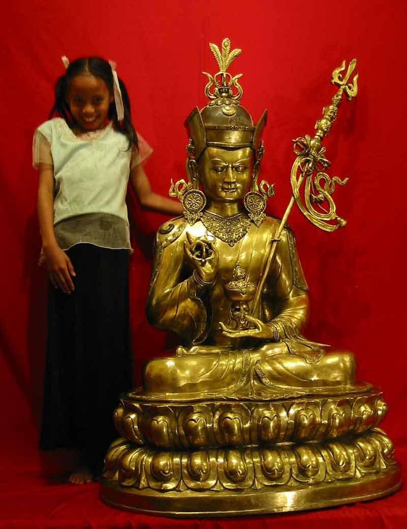 Buddha Padmasambha Statue Guru Rinpoche Skulptur Figur | Etsy