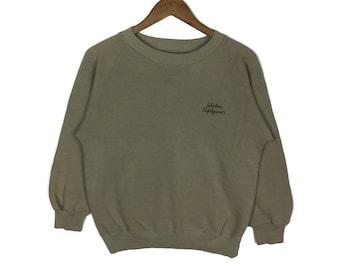SALVATORE FERRAGAMO Small Logo Spellout Sweatshirt Medium Size Sweater fd61a3e069585