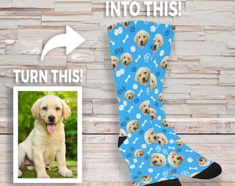 Personalized Dog Socks - PetParadise Custom Socks - Dog Lovers Gift - Dog  GIft - Cute Dog Personalized - Dog Gift Socks - Birthday Present 036a9f3198