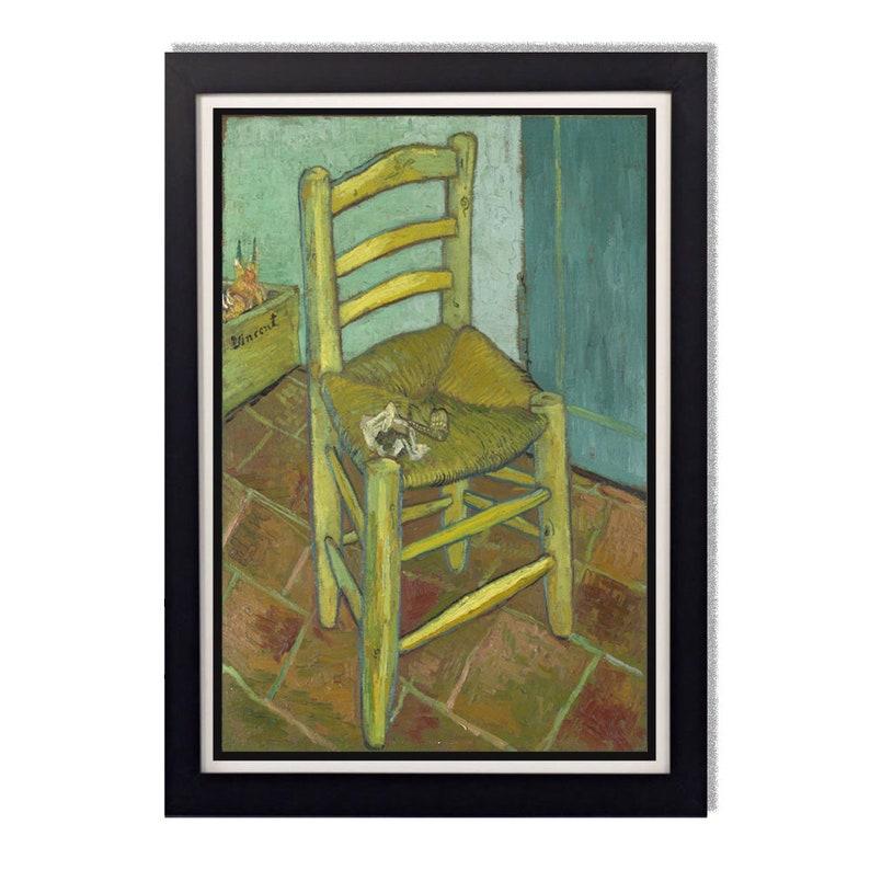 Vincent Van Gogh Chaise Reproduction Brillante