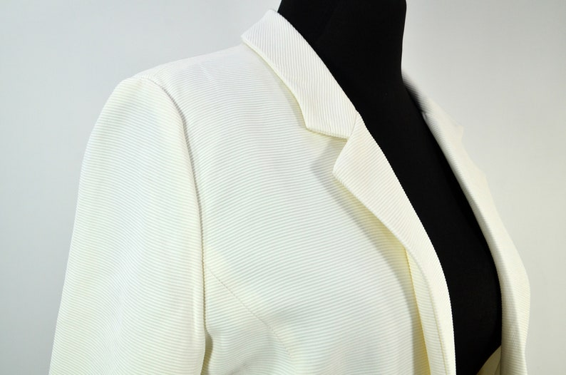 Vintage Longjacke White Great Britain