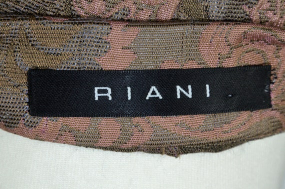 Vintage Cloqué Jacket Blazer Rosewood Brown, by R… - image 6
