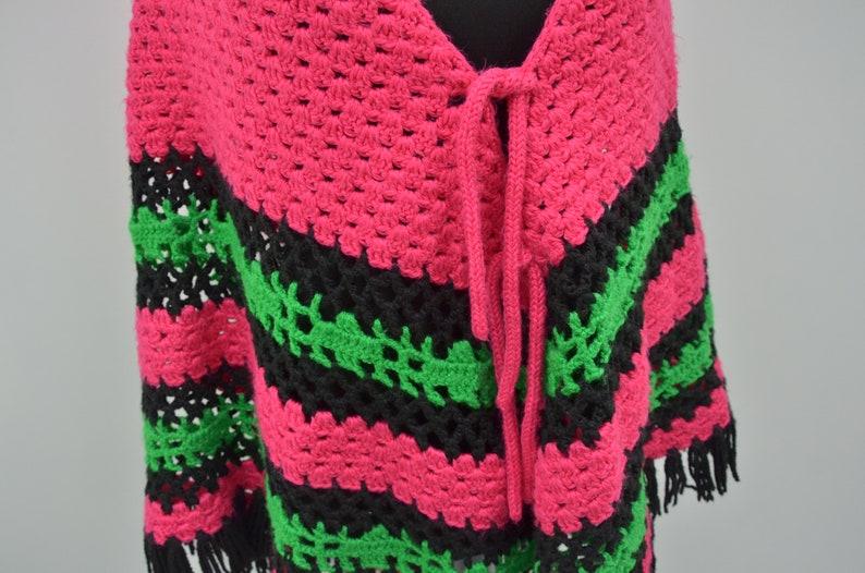 Shoulder scarf crochet open cape handmade