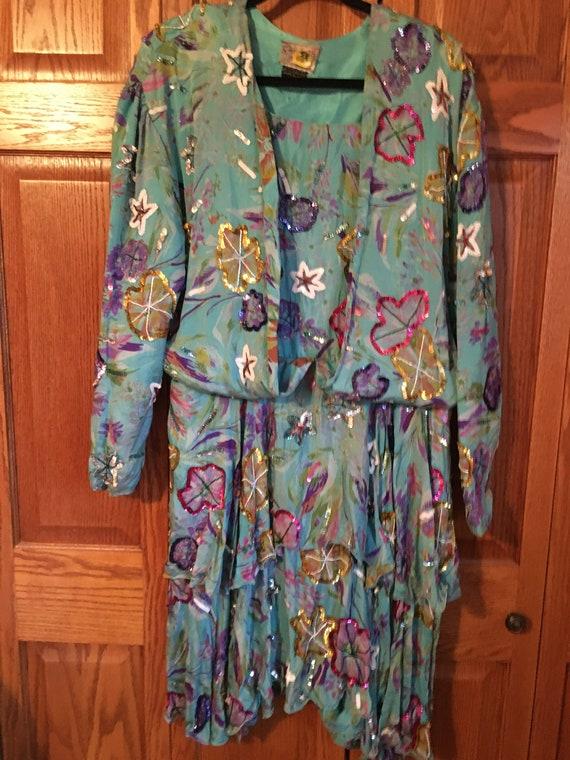 Vintage, 1920's dress, Elegant
