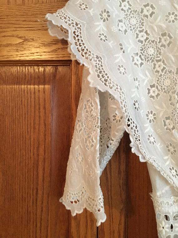 Vintage, Antique, white dress, Edwardian, 1900's - image 6