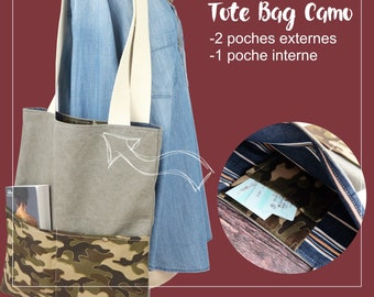 08ba9081051f Camouflage tote bag