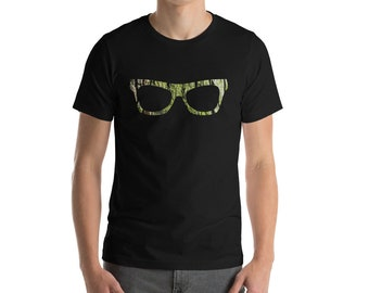 Mossy Bark Frame Short-Sleeve Unisex T-Shirt