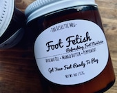 Foot Fetish Foot Moisturizer with Avocado Oil and Peppermint