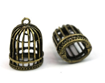 Antik vogelkaefig | Etsy
