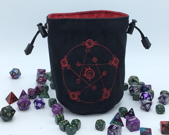 Reverse Human Transmutation Circle Dice Bag Fullmetal Etsy