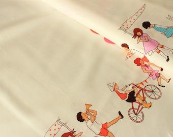 Jersey Tierkinder mit Luftballons Fräulein von Julie blau