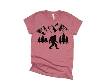 7bcb39d5 Sasquatch Shirt - Men's Shirt - Mr. Mom Shirt - Bearded Men Tees - Dad  Shirts