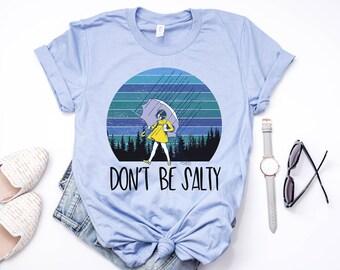 371b8f04 Don't Be Salty Shirt - Humor Tee - Sunflower Shirt - Funny Shirts - Salty  Tees