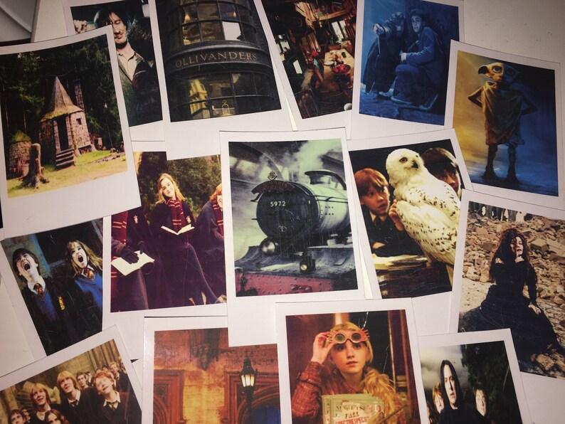 Camera Da Letto Stile Harry Potter : Set di 15 polaroids di harry potter instax mini stile etsy