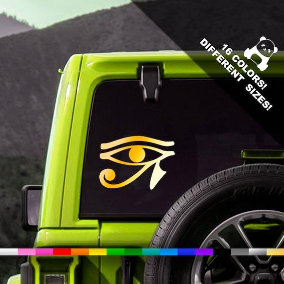 Eye of Horus Ra Ancient Egyptian Vinyl Decal Car Wall Window Sticker CHOOSE SIZE