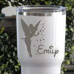 YETI or RTIC Engraved Tumbler/Custom Yeti/Custom RTIC/Personalized Gifts/Vacuum Sealed Tumbler/Gifts for Her/Gifts for Him/Disney/Tinkerbell