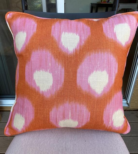 Peter Dunham Textiles Starburst in BlueBlue Pillow Peter Dunham SPillow Designer Throw Pillow