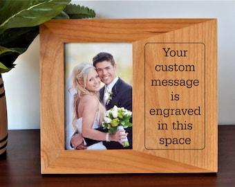 Engraved Frame Etsy