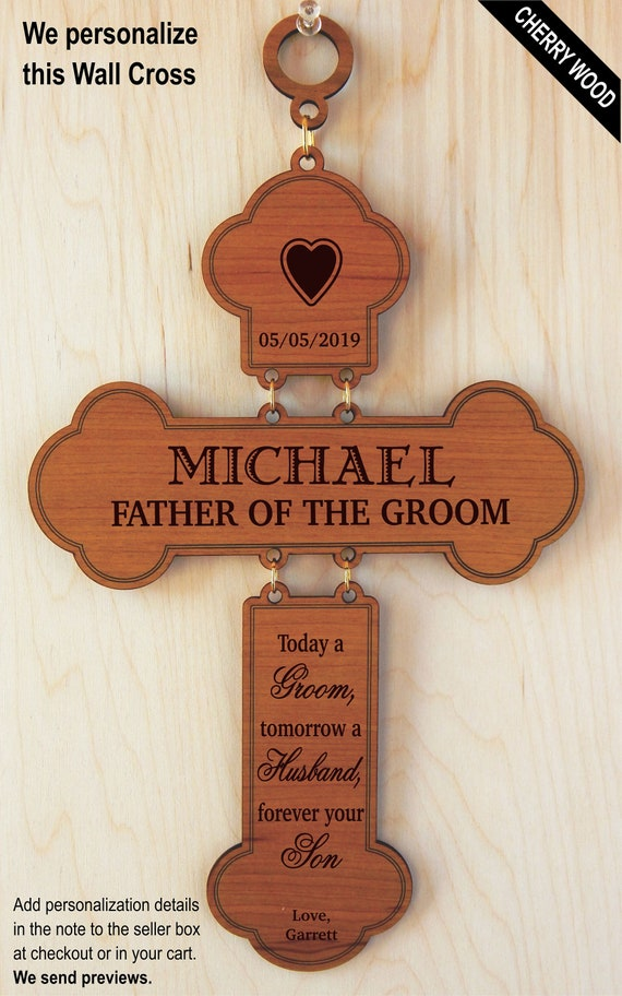Father Of The Groom Gift Gifts For Dad Wedding From Son Etsy