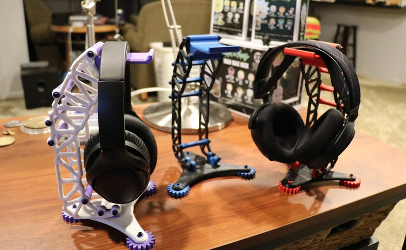 3D Printed Headphone Stand image 0
