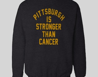 07e61c528b9 PITTSBURGH Is Stronger than Cancer #30 James Conner Inspired - Unisex  QUALITY OldSkool SWEATSHIRT