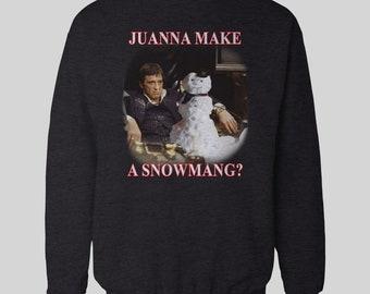 Scarface Sweater Etsy