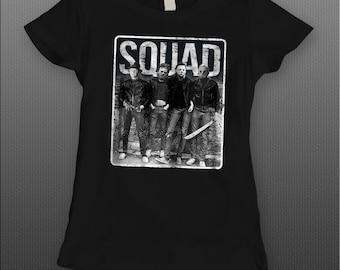 a076e6008f1 More colours. LADIES Killer Squad horror movie killers Halloween High  Quality DTG T-Shirt Sizes S-XXXXL