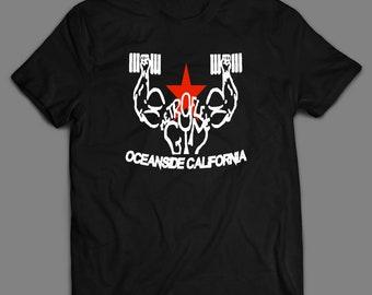 19328d9708e815 Oceanside California Metro Flex Gym Men s High Quality DTG T-Shirt Unisex  Many Colors   Sizes S-XXXXL